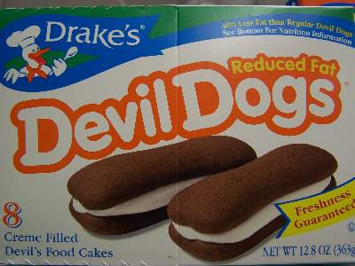 Drakes Cakes Devil Dogs Reduced Fat