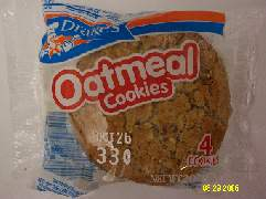 Delicious Oatmeal Cookies by Drakes Cakes
