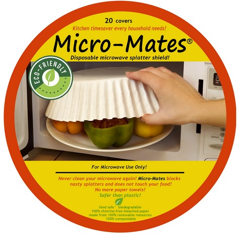 Micro Mates cancer free Microwave food covers